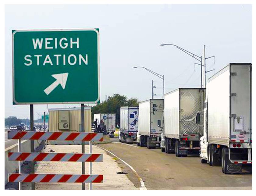 overweight trucks